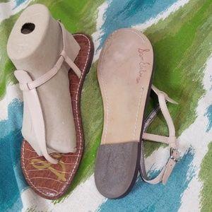 Sam Edelman beige gladiator sandals size 9